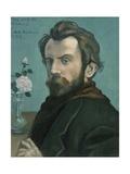 Self-Portrait, 1897 Giclee Print by Emile Bernard