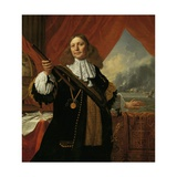 Vice-Admiral Johan De Liefde, 1668 Giclee Print by Bartholomeus Van Der Helst