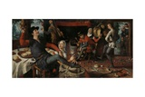 The Egg Dance, 1552 Giclee Print by Pieter Aertsen