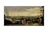 Fishermen and Farmers, C. 1625-31 Giclee Print by Arent Arentsz