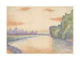 The Banks of the Marne at Dawn, 1888 Giclee Print by Albert Dubois-Pillet