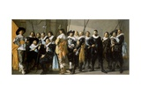 Militia Company of District XI under the Command of Captain Reynier Reael, 1637 Giclee Print by Frans Hals