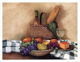 Basket And Bowl Posters by Sherry Masters