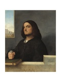 Portrait of a Venetian Gentleman, 1485-90 Giclee Print by Giovanni Cariani