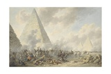 Battle of the Pyramids, 1803 Giclee Print by Dirk Langendijk