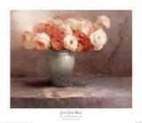Les Fleurs Romantiques Posters by Jennie Tomao