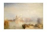 Dogana and Santa Maria Della Salute, Venice, 1843 Giclee Print by Joseph Mallord William Turner