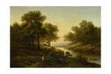 Landscape, 1830-45 Giclee Print by Alexandre Calame