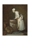 The Scullery Maid, 1738 Giclee Print by Jean-Simeon Chardin