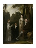 Portrait of Rutger Jan Schimmelpenninck and His Family, 1801-02 Giclee Print by August Allebe