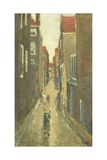 The Baanbrugsteeg Looking from the Haarlemmerdijk, Amsterdam, C. 1905 Giclee Print by George Hendrik Breitner