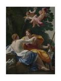 Venus and Adonis, 1642 Giclée-Druck von Simon Vouet