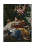 Venus and Adonis, 1642 Giclee Print by Simon Vouet