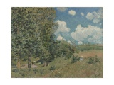 Road from Versailles to Saint-Germain, 1875 Giclee Print by Alfred Sisley