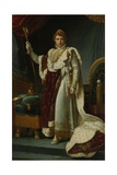 Portrait of Emperor Napoleon, C. 1805-15 Giclee Print by Francois Pascal Simon Gerard