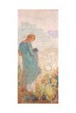 Pandora, 1910-12 Giclee Print by Odilon Redon