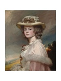 Mrs. Davies Davenport, 1782-84 Giclee Print by George Romney