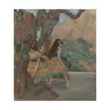 Ballet Dancers, 1877 Giclee Print by Edgar Degas