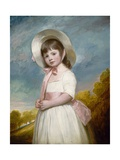 Miss Juliana Willoughby, 1781-83 Giclee Print by George Romney