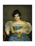 Portrait of Adriana Johanna Van Wijck, 1829 Giclee Print by Petrus van Schendel