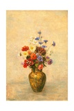 Flowers in a Vase, 1910 Giclee Print by Odilon Redon