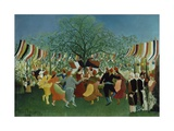 A Centennial of Independence, 1892 Giclee Print by Henri Rousseau