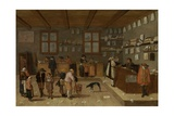 Lawyer's Office, 1628 Giclee Print by Pieter De Bloot