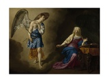 The Annunciation, 1667 Giclee Print by Adriaen van de Velde