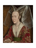 Portrait of Isabella of Portugal 1450 Giclee Print by Rogier van der Weyden
