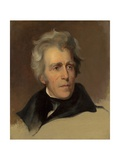 Andrew Jackson, 1845 Giclee Print by Thomas Sully