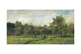 Orchard, C. 1865-69 Giclee Print by Charles Francois Daubigny