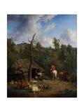 The Hut, 1671 Giclée-Druck von Adriaen van de Velde