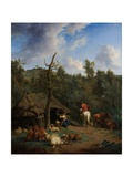 The Hut, 1671 Giclee Print by Adriaen van de Velde