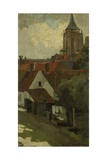 The Tower of Gorkum, C. 1880-1908 Giclee Print by George Hendrik Breitner
