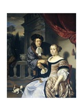 A Man and a Woman, 1678 Giclee Print by Frans Van Mieris
