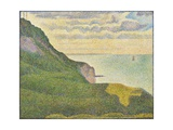Seascape at Port-En-Bessin, Normandy, 1888 Giclee Print by Georges Seurat
