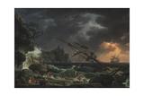 The Shipwreck, 1772 Giclée-Druck von Claude-Joseph Vernet