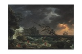 The Shipwreck, 1772 Giclee Print by Claude-Joseph Vernet