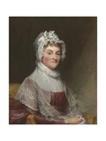 Abigail Smith Adams, C. 1800-15 Giclee Print by Gilbert Stuart