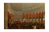 The House of Representatives, 1822-23 Giclee Print by Samuel F. B. Morse