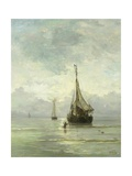 Calm Sea, 1860-1900 Giclee Print by Hendrik Willem Mesdag