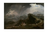 Joshua Commanding the Sun to Stand Still Upon Gibeon, 1816 Giclee Print by John Martin