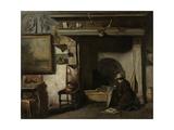 Studio of the Haarlem Painter Pieter Frederik Van Os, C. 1856-57 Giclee Print by Anton Mauve