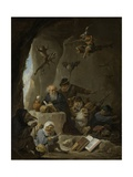The Temptation of St Anthony, 1640-60 Giclee Print by David Teniers