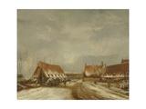 The Casemates before Naarden, 1814 Giclée-Druck von Pieter Gerardus van Os