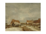 The Casemates before Naarden, 1814 Giclee Print by Pieter Gerardus van Os
