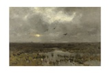 The Marsh, C. 1885-88 Giclee Print by Anton Mauve