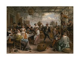 The Dancing Couple, 1663 Giclee Print by Jan Steen