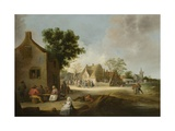Country Kermis, 1639 Giclee Print by Pieter De Bloot