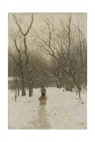 Winter in the Scheveningse Bushes, 1870-88 Giclee Print by Anton Mauve